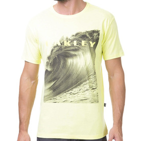 Camisa Manga Oakley Camuflado Envio Imediato Mod 59. 12 vendidos · Camiseta  Oakley Premium Wave - Cut Wave da1d89fccb