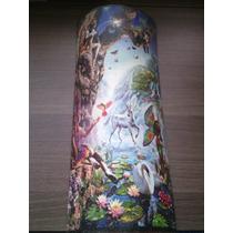 Teja Decorativa Con Impresión Efecto Oleo Boris Vallejo
