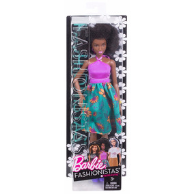 Barbie Fashionistas 59 Negra Black Power Grace 2017 Camel