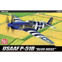 Aviao P-51b Mustang - 1944 - D-day 70th Anniversary - Blue -