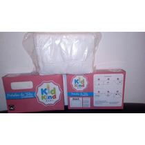 Pañales De Tela Blancos Importado Kid Kind 100% Algodon