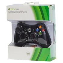 Controle Wireless Xbox 360 Preto Lacrado Original