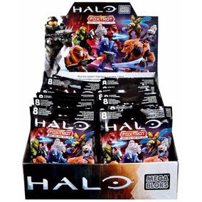Mega Bloks/ Halo Foxtrop Series Exhibidor 24 Pz