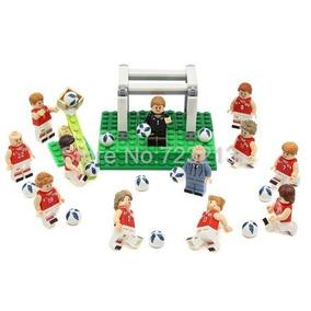 Seleção Dinamarquesa De Futebol - Lego e Blocos de Montar no Mercado ... faf033f038e11