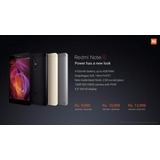 Xiaomi Redmi Note 4 4gb 64gb Global+caja+sellada+glass