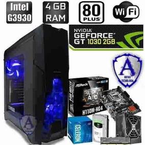 Pc Gamer Intel G3930 Geforce Gt 1030 2gb Hd 1tb 4gb N25