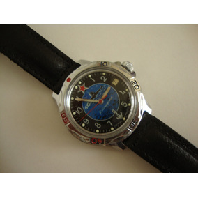 Relógio Russo Vostok Komandirskie Novo! Sem Uso! Certif+est.