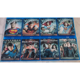 Coleccion Superman Justice League Man Of Steel Bluray Latino