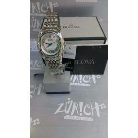 Reloj Bulova Dama Precisionist Tanglewood Diamond Steel