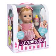 Muñeca Interactiva Luvabella Blond Hair Ojos Azules