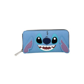 Cartera Lilo & Stitch Modelo Stitch Orejas Disney Tipo Piel