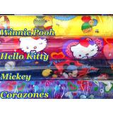 Papel Contac Rollos De 3mts Estampados De Disney Variados!!!