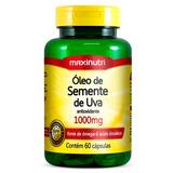Óleo De Semente De Uva - 1000mg - Maxinutri - 60 Cápsulas