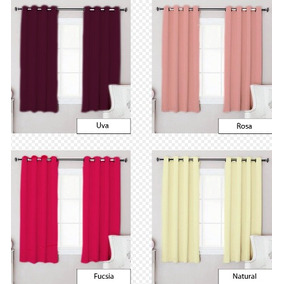 cortinas cortas para habitacion