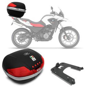 Bauleto Moto Bmw G650 Givi V46n 46 Litros + Base Específica