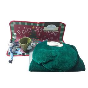 Set Juego Baño Navidad C/ Figuras Decorativas Navideñas