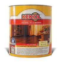 Laca Plastificante Para Piso Kekol K - 4045 Brillante X 4 Lt