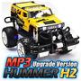 Carrinho Hammer Pick-up Jeep Jumbo Hummer Rc Mp-3 A Etaqui