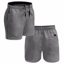 Kit 10 Bermuda Short Masculino Tactel Academia Esporte