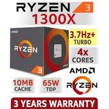 Procesador Amd Ryzen 3 1300x 3.5ghz 8mb L3 4 Core Am4