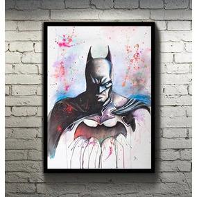 Quadros Estilo Poster Dc Comics Tamanho 34x46