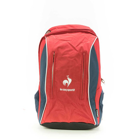 Mochila Le Coq Sportif Kyze Backpack Hide Rise Red/ Eclipse