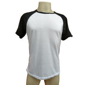 10 Camisetas Raglan Blusa Poliéster Para Sublimação Atacado