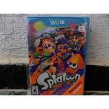 Splatoon Wii U Nuevo Y Sellado