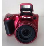 Cámara Canon Powershot Sx420 Is Roja