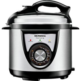 Panela De Pressão Elétrica Mondial Pratic Cook Pe27 4l 220v