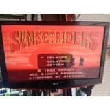 Sunset Riders Snes Copia Nuevo