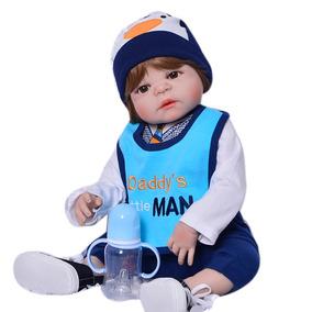 Boneca Bebê Menino Reborn Pedrinho Realista