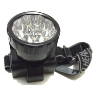 Lanterna De Cabeça 12 Leds - 2909