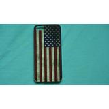 Capa Case Para I Phone 5 / 5s Bandeira Dos Estados Unidos