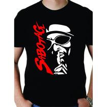 Camisa Camiseta Rapper Sabotage E Racionais Rap