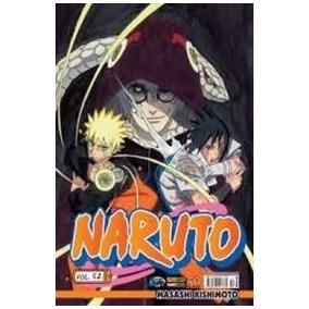 Manga Naruto Volumes Disponíveis (52,53 E 54)