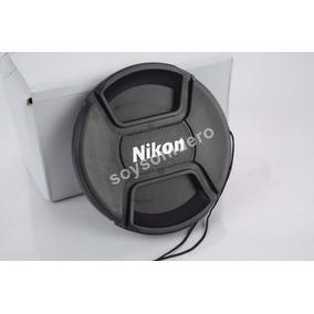 Tapa Cubre Lente Nikon 67mm Con Hilo D3100 D3000 D5100 D70