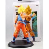 Dragon Ball Z Muñeco De Colección De Goku Super Saiyan 22cm