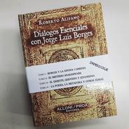 Diálogos Con Borges - 4 Tomos - Libro Objeto Imperdible!