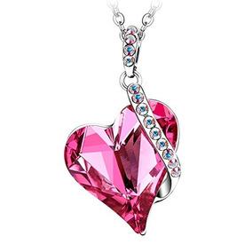 Collar roxas kingdom hearts joyera en mercado libre chile menton ezil love heart colgante collar hecho con rosa rosa aloadofball Images
