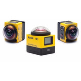 Kodak Pixpro Sp360 Camara De Accion 360 Con Paquete Explorer