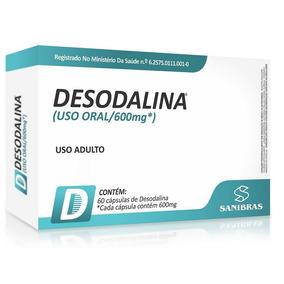 Desodalina 600mg Original - 60 Cápsulas - Sanibras