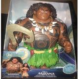 Muñeco Maui Habla Moana Disney Store Sonido 30 Cm