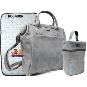 Kit Bolsa Maternidade Tigor Cinza - Bolsas no Mercado Livre Brasil 811f341a9dd