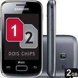Samsung Galaxy Y Duos S6102 Wifi 2 Chips   Vitrine