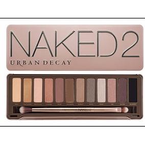 Paleta De Maquiagem,estojo De Sombras Naked 2+ Brinde