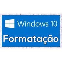 Cd Formatação Computador & Notebook Win 10 Br Entrega Rápida
