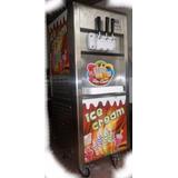 Máquina De Helado Suave Soft Cream 16lts. Modelo Bql- 216
