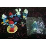 7 Pitufos Mac Donalds Toys
