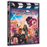 Monster High Filme Monstros Câmera Ação Dvd Original